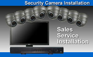IP Security Camera CCTV Syst 1080/720p•3/4/5mp Pro-Installation*