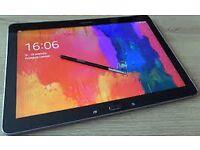 Samsung Galaxy Note Pro 12.2 SM-P900 Wifi, Smart Leather Case, Black - Superb Condition