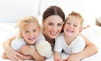 50% Off Nanny Services call us today
