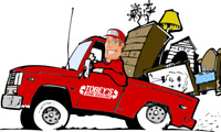 Junk removal - short notice avail. - 7 days a week