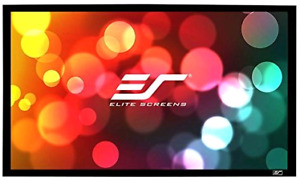 Elite Screens Er180wh1 Sable – écran de projection 115 po. NEUF