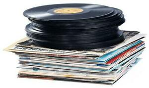 "VINTAGE VINYL RECORDS WANTED. Lps, 45s, 12"". TOP $$$"