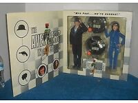 The Avengers - Steed, Emma Peel Limited Edition Talking Figures - Patrick McNee Diana Rigg