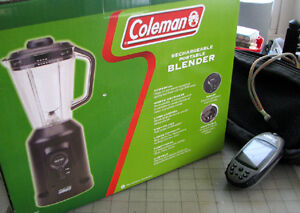 Coleman rechargeable portable blender new in box.