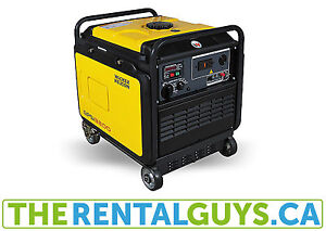 Portable Generator Rental Free Delivery In Guelph