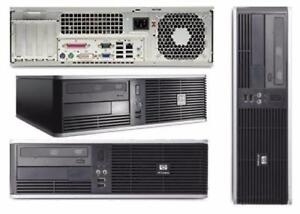 LIQUIDATION HP PC DUAL CORE 2.6GHz,4GB,80GB,DVD-RW,8USB,SUPER FAST