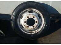 Ford transit 2000-2006 truck spare wheel recovery, Luton,tipper, dropside