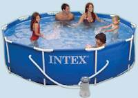 12' x 3' Intex Pool