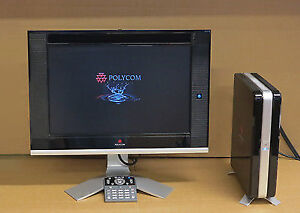 USED POLYCOM HDX 4000 2201-24176-001 + MONITOR