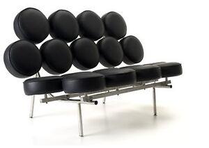 Marshmallow sofa noir