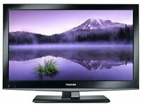 "22 "" TOSHIBA LED TV FREEVIEW HD USB GREAT WORKING ORDER CAN DELIVER BARGAIN"
