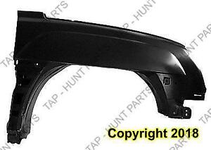 Fender Front Passenger Side With Body Cladding Chevrolet Avalanche 2002-2006