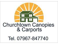 Churchtown Canopies and Carports.Deal direct with the Manufacturer and save £££.Nationwide delivery