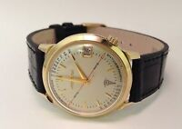 14kt Gold Bulova Accutron Pulsation Doctor Watch