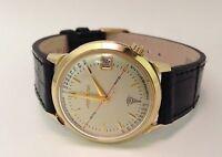 14kt Gold Bulova Accutron Pulsation Doctor Watch