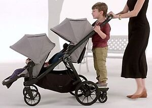 Baby Jogger City Select Double Stroller with buggy board