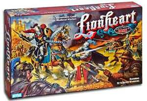 LIONHEART BOARDGAME BY PARKER BROTHERS