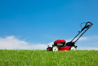 **LAWN MOWING SERVICE FOR SUMMER/TONTE DE PELOUSE POUR ETE**