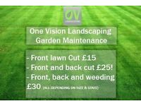 GARDEN MAINTENANCE (Grass cutting)