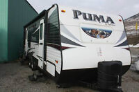 """2015 PUMA 25RS """"SHOWBUSTER PACKAGE"""" TRY YOUR OFFER TODAY!!"""