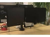 4 Computer Monitors (2 brand new) 19-20 inch