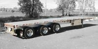 48x102 tidem flat bed trailer