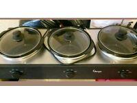 Triple slow cooker bnwob