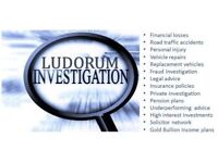 Investigations, Investments & Insurance