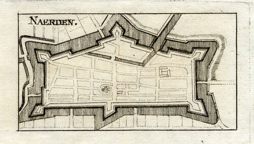 Antique Print-NAARDEN-NETHERLANDS-Riegel-1691