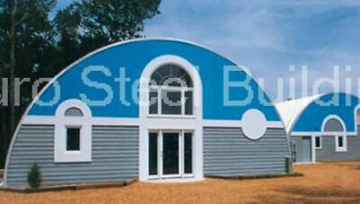 Durospan Steel 52x32x18 Metal Quonset Kit Diy Home Buildings Open Ends Direct