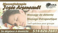 Massage à domicile à prix abordable