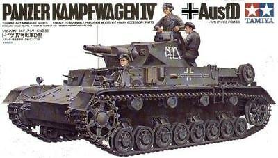TAMIYA German Pzkpw IV Ausf. D Tank 1:35 Military Model Kit 35096