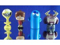 Titans Vinyl Cartoon Network Vinyl Mini Figures Loose but Mint YOU CHOOSE