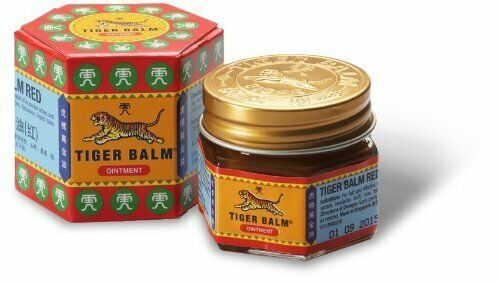 Tiger Balm (Red) Super Strength Pain Relief Cream 21 ml (pack of 2 )  by Tiger B