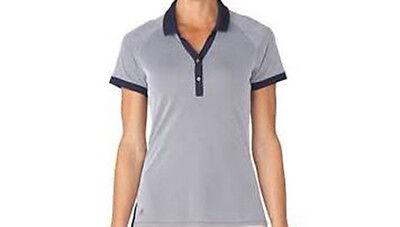 Adidas Mujer Essentials Polo Piqué (S) Azul Marino AE9857