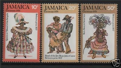Jamaica 1976 Belisario Prints SG 421/3 MNH
