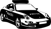 Wandtattoo Porsche