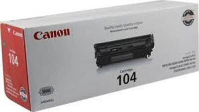 Genuine Canon 104 Toner Cartridge  SEALED BOX NEW