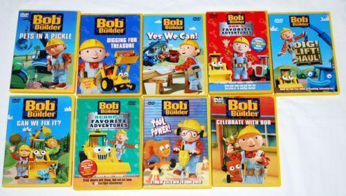 Bob The Builder Vhs Lot | Car Interior Design Bob The Builder Can We Fix It Dvd