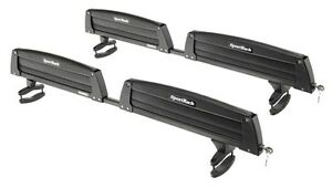 Ski/snowboard Rack (SportRack) with locks, no crossbars required