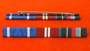 NATO-S-FOR-Bosnia-Queens-Diamond-Jubilee-Medal-Ribbon-VRSM-Medal-Ribbon-Bar-Pin