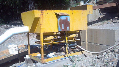 Panam Style 42 Duplex Jig W Nickel Ragging Plus Nugget Trap. Gold Mining