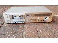Sony TC-K44 Vintage Cassette Player and Tuner