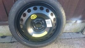 VAUXHALL FOUR STUD, WHEEL AND TYRE NEW