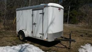 Cargo Trailer 5'x10' with ramp