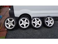 Mercedes 18 inch wheels and tyres