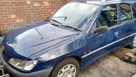 Peugeot 306 Estate 1.9 Turbo Spares or Repairs