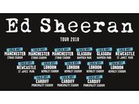 **2 x Ed Sheeran tickets Etihad 26th May**