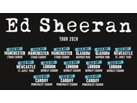 Ed Sheeran Tickets x2