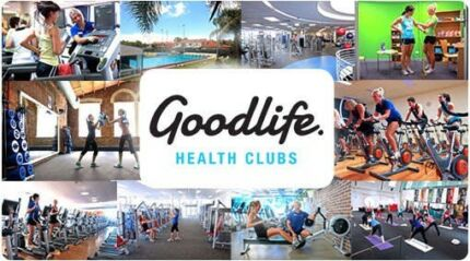 Goodlife gym membership with inclusions